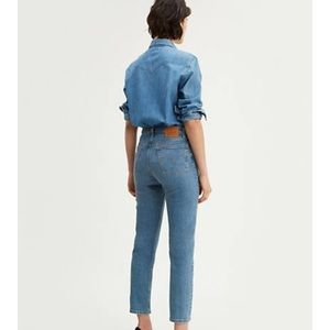 Levi's 501 original cropped stretch